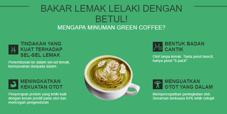 Perintah Green Coffee Grains dari amazon ke Malaysia