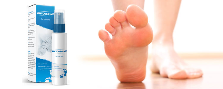 Onycosolve - asli semburan untuk melawan berlebihan kaki berpeluh