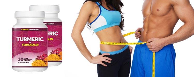 Turmeric memastikan cepat dan tahan lama kesan tanpa mangsa diet dan latihan