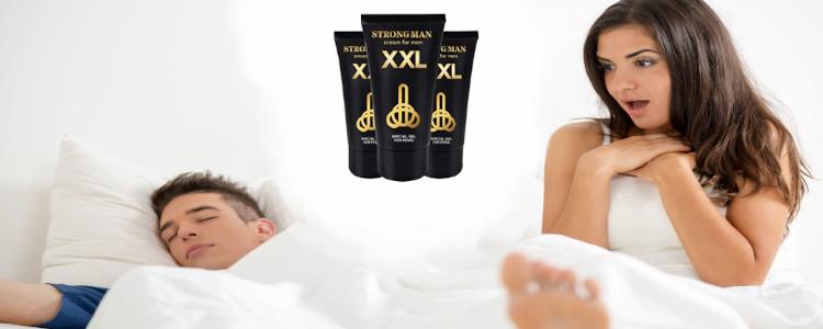 Di mana untuk membeli Strong Man XXL? Apakah harga di farmasi, di web pengeluar?